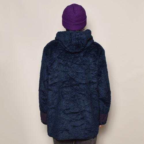 ・EU Military/Hooded Sherpa Liner Jacket(EUミリタリー シェルパライナージャケット)ネイビー [z-2609]