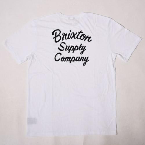 Brixton/Thrift T-Shirt(ブリクストン Tシャツ)ホワイト [a-1749]