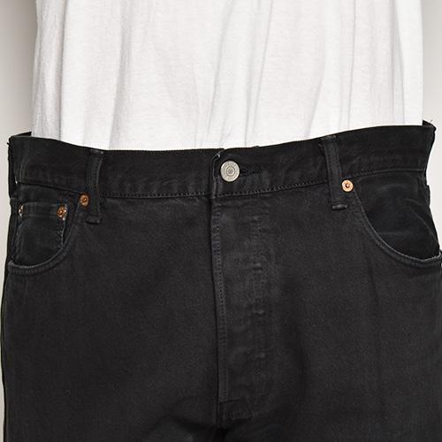 ・Levi's/501 Super Black Jeans(リーバイス 501デニムパンツ)ブラック/サイズW36 [z-5512]