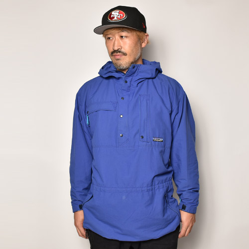 ・Patagonia/Nylon Anorak Jacket(パタゴニア ナイロンジャケット)ブルー/サイズS [z-4573]