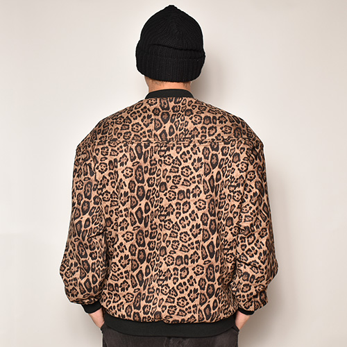 Towncraft/Fake Suede Derby Jacket(タウンクラフト ダービージャケット)レオパード [a-4069]