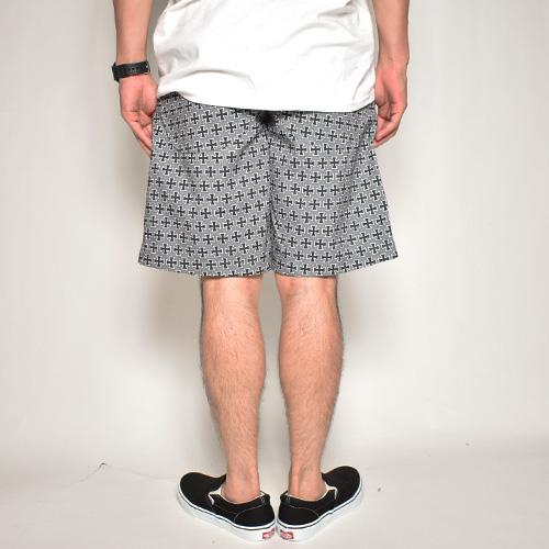 Iron Cross Easy Short Pants(アイアンクロスイージーショートパンツ)グレー [a-5148]