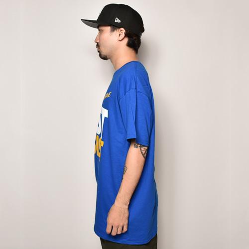 D.A.R.E./S/S T-Shirt(ドラッグレジスタンス Tシャツ)ブルー [a-3866]