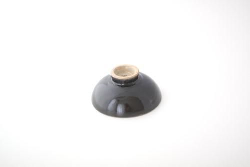 六瓢 猪口(黒)