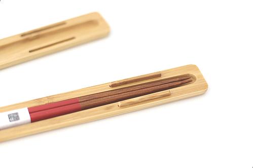 みやび箸ケースセットS 赤
