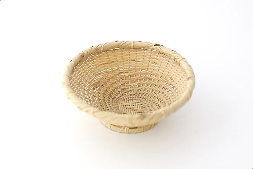 白竹ござ目蕎麦椀ざるR02