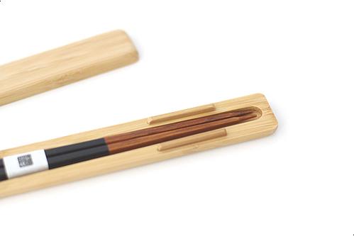 みやび箸ケースセットS 黒
