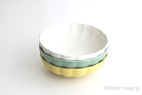 グラニテ深皿L(ホワイト)