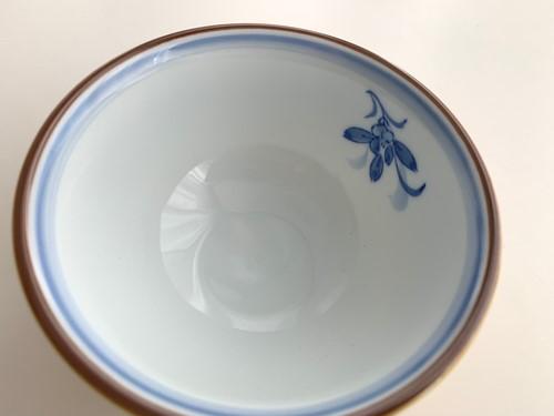 蘭の香り(小)茶碗