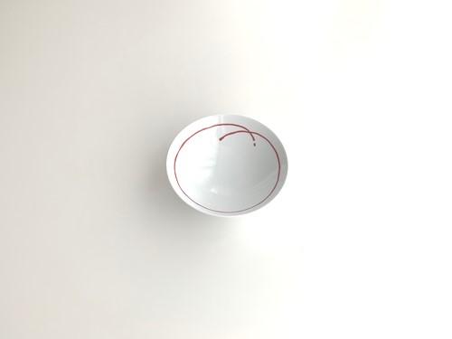 平茶わん特大AB-9(ホワイト/レッド)
