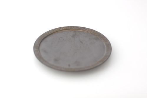 shiro-kuro 5寸皿 (黒)