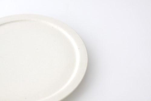 shiro-kuro 6寸皿 (白)