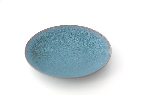 copper 21cmプレート (ブルー)