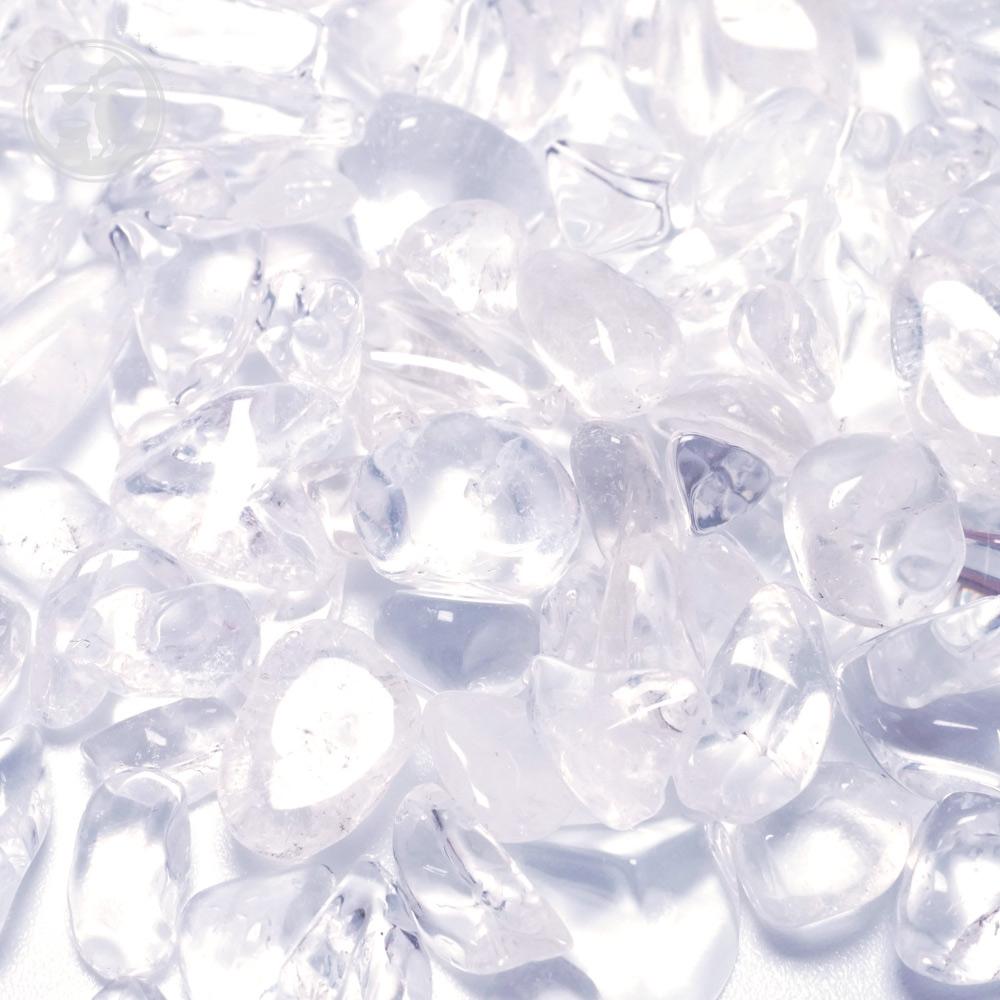 天然 水晶 クリスタル さざれ Mサイズ 約1000g(1kg)詰め 約5mm〜20mm