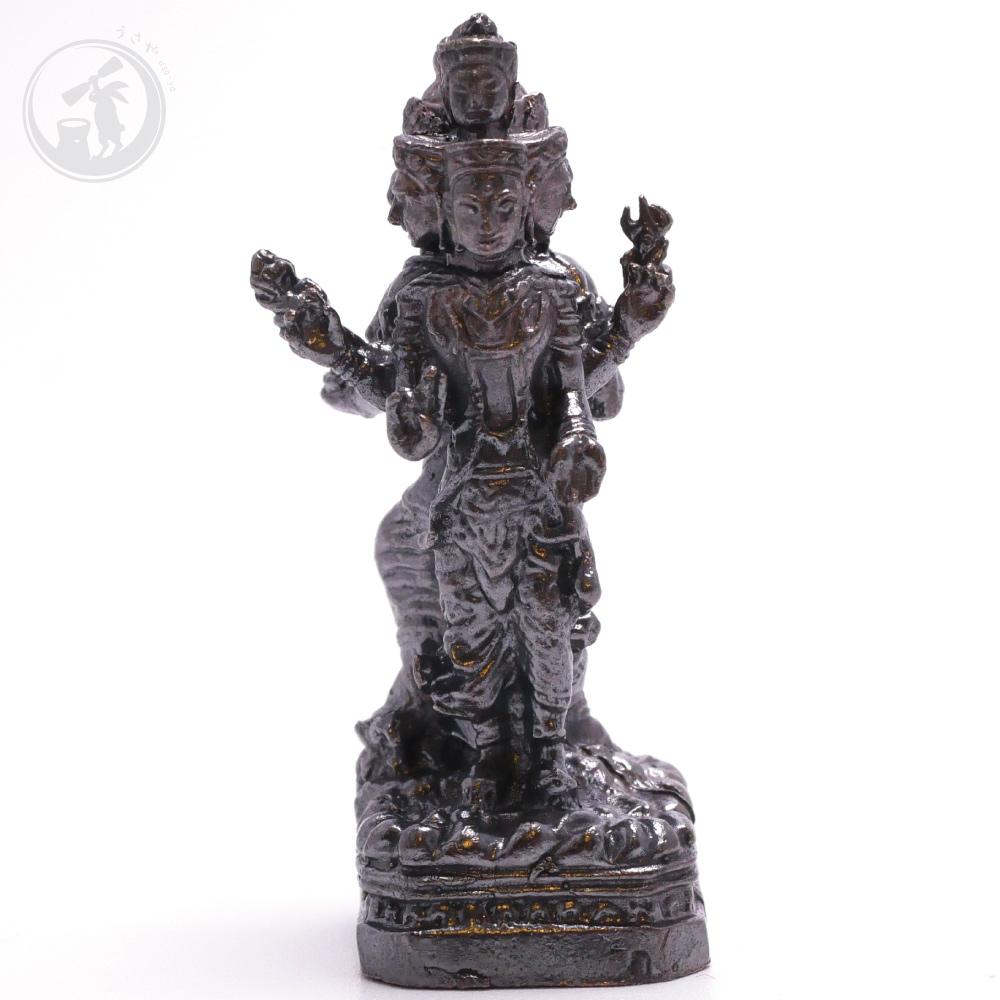 タイ 王国 製 ガネーシャ 阿修羅 真鍮製 置物 お守り