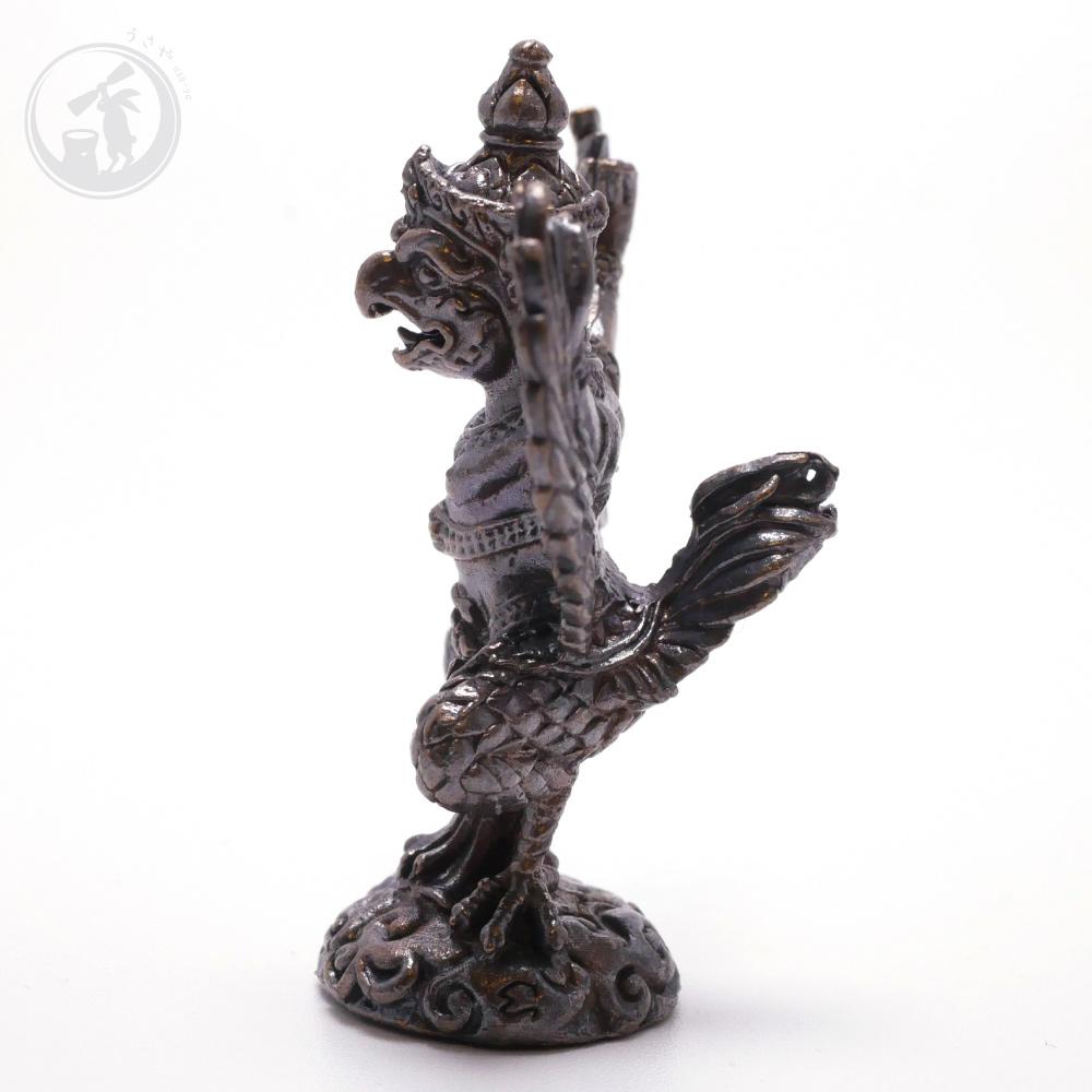 タイ 王国 製 ガルーダ ガルダ 真鍮製 置物 お守り
