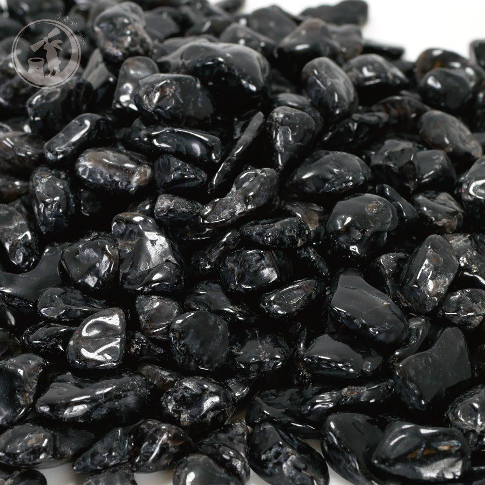 天然 黒水晶 モリオン さざれ Sサイズ 約500g詰め