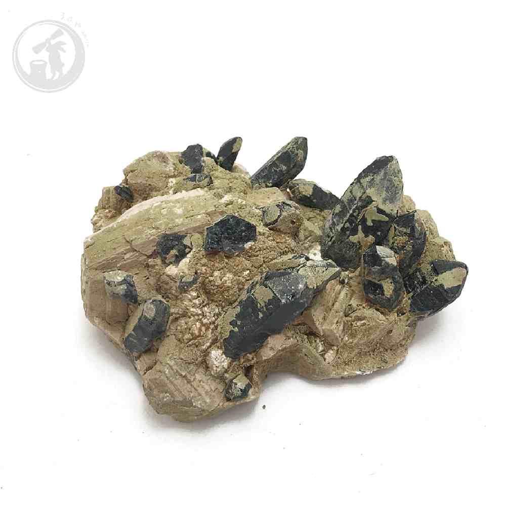 黒水晶(モリオン) 天然チベット産 約680g 原石 一点物 魔除け 最強石