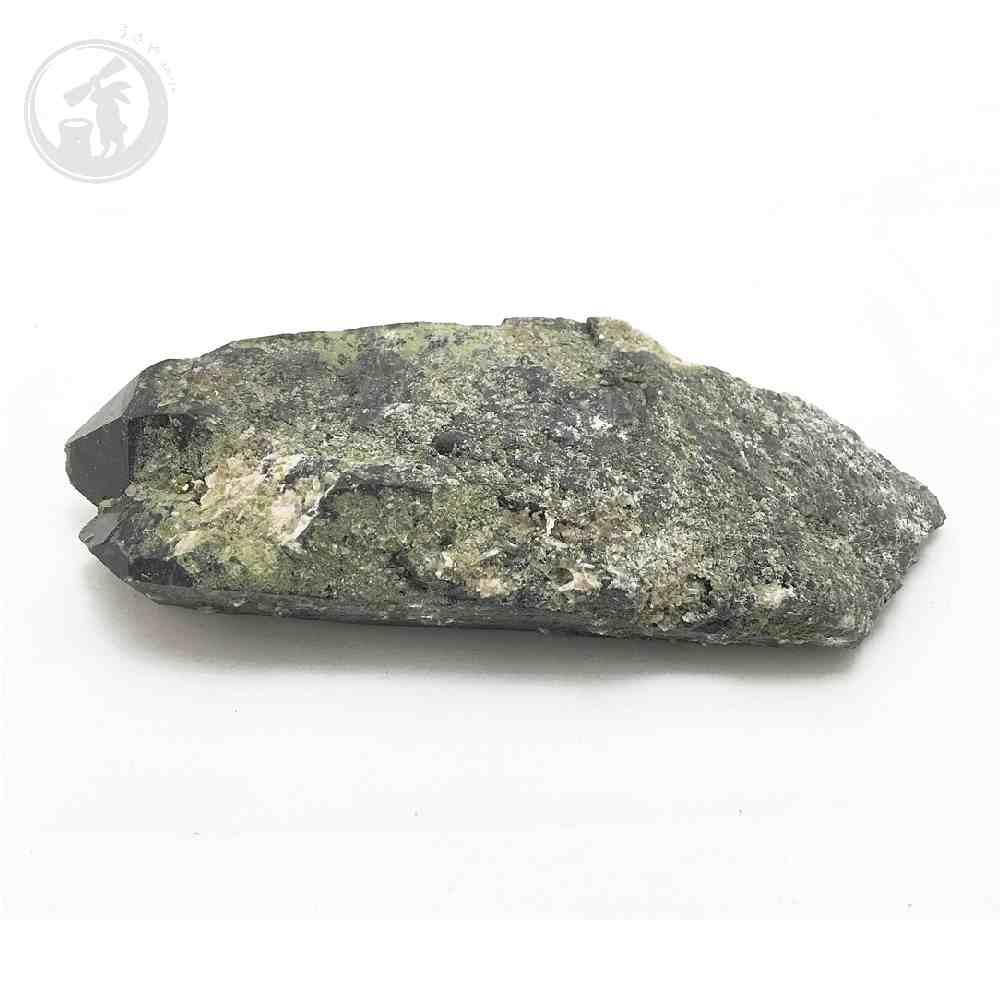 黒水晶(モリオン) 天然チベット産 約415g 原石 一点物 魔除け 最強石