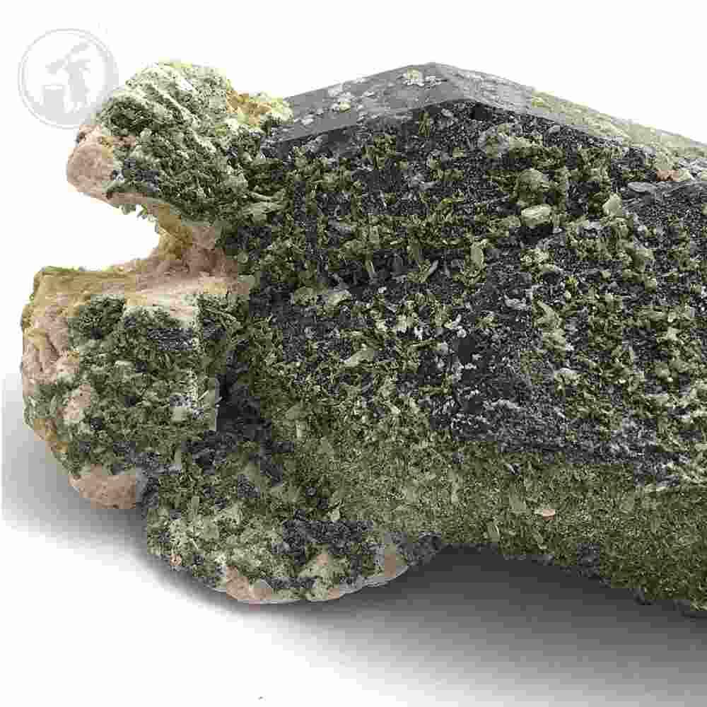 黒水晶(モリオン) 天然チベット産 約560g 原石 一点物 魔除け 最強石