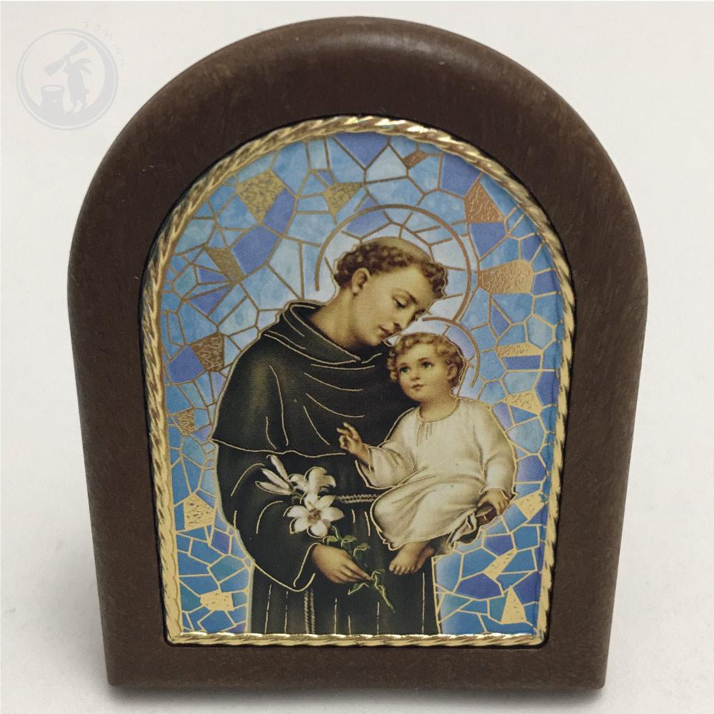 イタリア製 聖アントニオ(スタンド) サンタントニオ聖堂 直輸入 お守り 限定入荷 パドヴァ