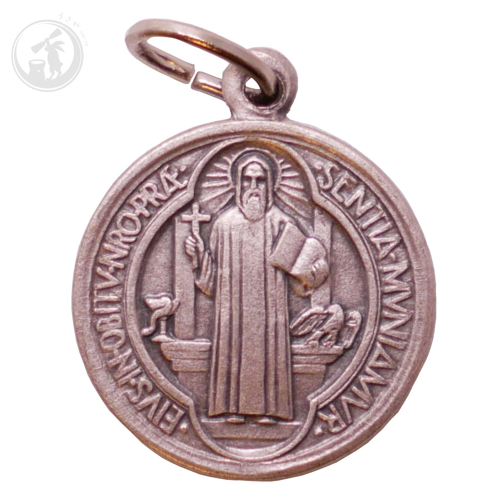 イタリア製 聖ベネディクト メダイ 直輸入 お守り パドヴァ 奇跡のメダイ