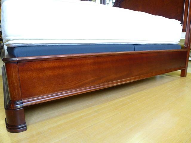 ベッドフレーム クイーン 高級 ( マットレス 別売) おしゃれ クイーンアン クラシック テイスト アンティーク アンティーク風 クイーンベッド アメリカ 輸入 ベッド 高級 エレガント 木製 寝室 9180 Evolution Legacy