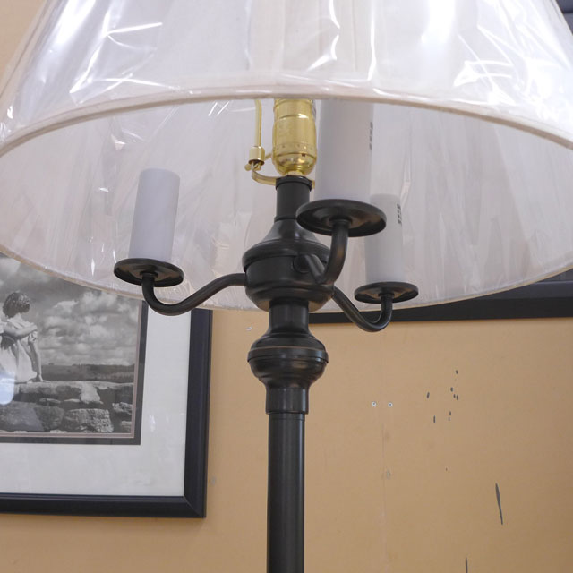 ランプ ライト フロアランプ アンティーク アンティーク調 LED インテリア 照明 シェード シェードランプ おしゃれ クラシック モダン レトロ リビング フロアランプ BO-315-DB CAL lighting