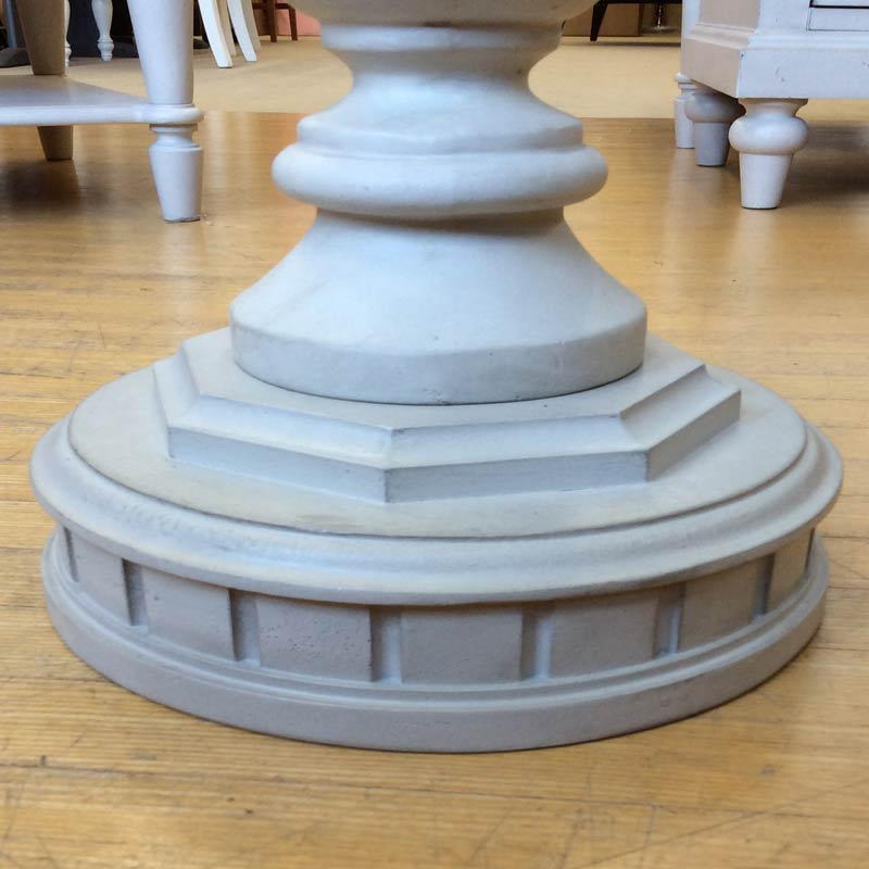 テーブル サイドテーブル ナチュラル ツートン フレンチ カントリー アンティーク アンティーク調 おしゃれ かわいい アメリカンカントリー ナチュラル&ホワイト 6400-508 Brookhaven