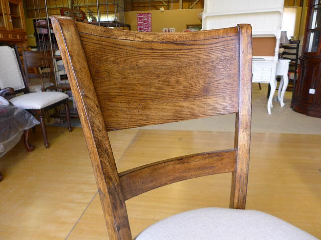 【 メーカー廃盤 ディスコン品 】ダイニングチェア 肘無し チェア 椅子 イス  アンティーク調 ブラウン 木製 高級 アメリカン クラシック テイスト レトロ おしゃれ チェアー サイドチェア New Bohemian 450 UNIVERSAL