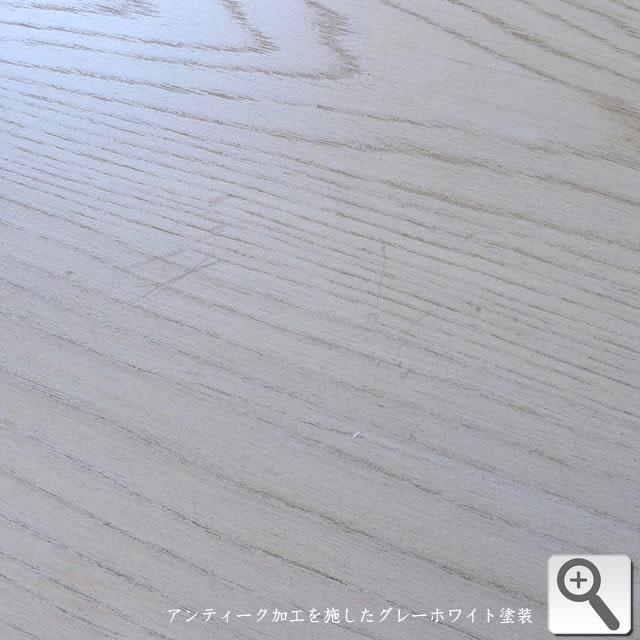 サイドボード シャビーシック グレー 白家具 白 ホワイト フレンチ カントリー アンティーク アンティーク調 クラシック テイスト 高級 エレガント ディスプレイ リビング キッチン 玄関 おしゃれ かわいい メゾン・ハントボード ELAN