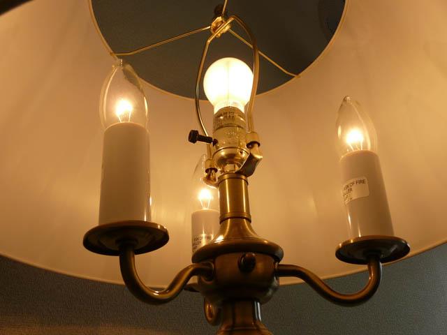 【 訳あり品 】スタンドライト フロアライト モダン スタンドランプ アンティーク ランプ ライト フロアランプ フロアスタンドライト アンティーク調 テイスト LED シェード シェードランプ アメリカン 照明 315AB CAL lighting