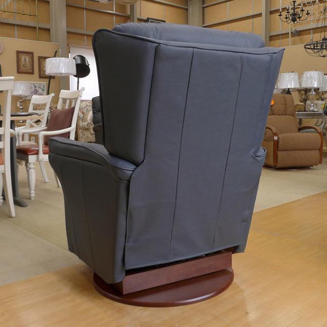 リクライニングチェア 本革 リクライニングソファ 一人用 総本革 レザー ソファー 一人掛け ロッキングチェア ロッキング 機能付 高級 おしゃれ オットマン アメリカン レイジーボーイ 501 MARTINI ネイビー
