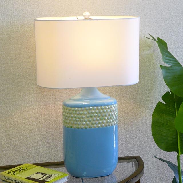 テーブルランプ テーブルライト 陶器 ランプ ライト テーブル アンティーク アンティーク調 おしゃれ ベッドランプ ベッドサイド ベッド サイド 高級 寝室 リビング デスク クラシック テイスト モダン LED シェード シェードランプ スタンドライト 照明 間接照明 BO-2590TB