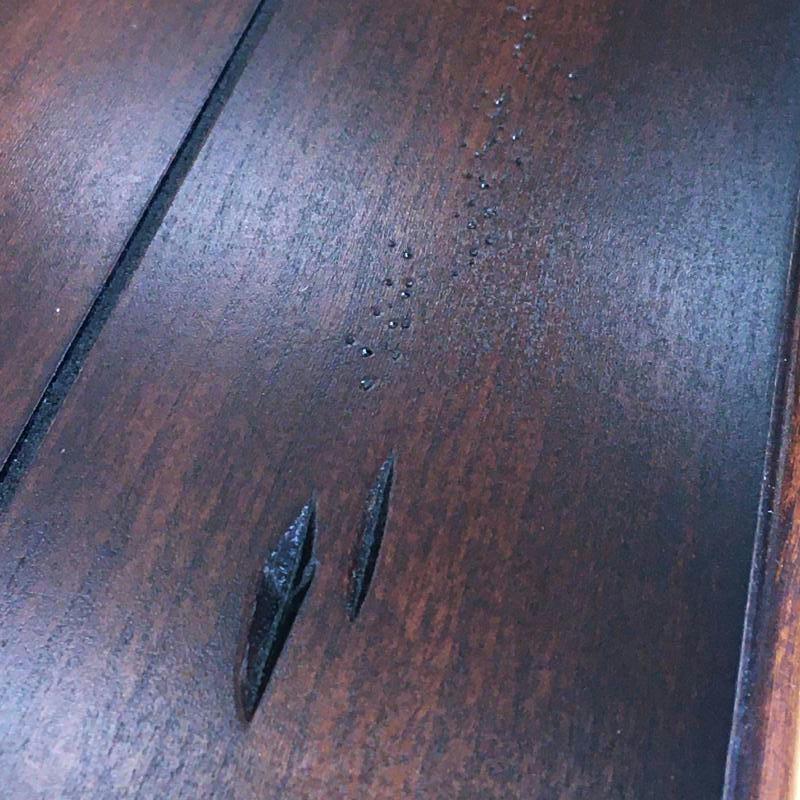 【特価品】 ソファテーブル コンソールテーブル アンティーク アンティーク調 高級 輸入家具 ツートン カントリー テイスト アメリカ Magnussen社