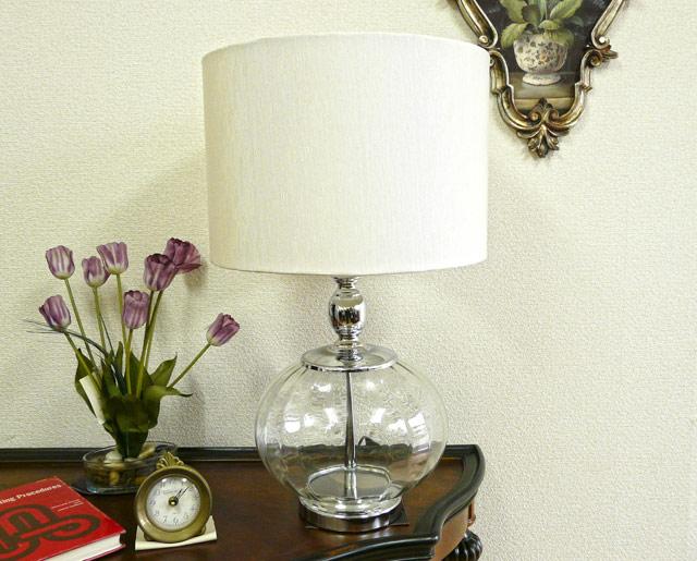 テーブルランプ テーブルライト ガラス 白 ホワイト ランプ ライト テーブル アンティーク アンティーク調 おしゃれ ベッドサイド 高級 寝室 クラシック テイスト BO2287TB CAL lighting