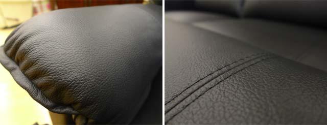 リクライニングソファ 2人掛け 本革 ソファ ブラック 黒 オットマン一体型 総本革 レザー リクライニングソファー 手動 フルフラット 高級 おしゃれ 2人 二人掛け リクライニングチェア 二人掛けソファ ソファ オットマン アメリカン レイジーボーイ LAZBOY 550 Cardinal
