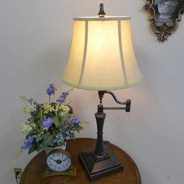 ランプ ライト テーブルランプ テーブルスタンドライト アンティーク アンティーク調 LED インテリア 照明 照明器具 間接照明 シェード シェードランプ おしゃれ クラシック レトロ シンプル デスク ベッド 寝室 勉強部屋 子供部屋 テーブルランプ BO-2443SWTB CAL lighting