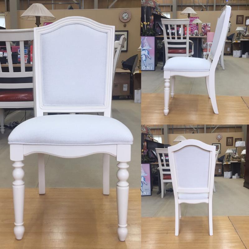 【ご予約受付中】チェア アンティーク アンティーク調 白家具 姫系 木製 クラシック テイスト おしゃれ かわいい ホワイト 白  椅子 いす イス 子供 キッズ 学習チェア 学習椅子 6481 Summerset-Ivory Legacy