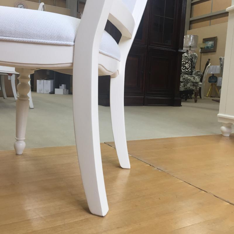 チェア アンティーク アンティーク調 白家具 姫系 木製 クラシック テイスト おしゃれ かわいい ホワイト 白  椅子 いす イス 子供 キッズ 学習チェア 学習椅子 6481 Summerset-Ivory Legacy