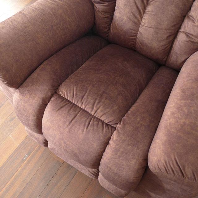 リクライニングチェア リクライニングソファ 一人用 ソファ オットマン一体型 ソファー 一人掛け 1人 リラックスチェア ロッキングチェア ロッキング 機能付き 高級 おしゃれ 一人掛けソファ LA-Z-BOY MAVERICK 582 i-Sun Dance 布張り