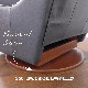 リクライニングチェア リクライニングソファ 一人用 ソファ オットマン一体型 ソファー 一人掛け 1人 リラックスチェア 手動 高級 おしゃれ アメリカン レイジーボーイ LA-Z-BOY 10T-505 RIALTO Madras PACIFIC SL714866 総本革 ネイビー