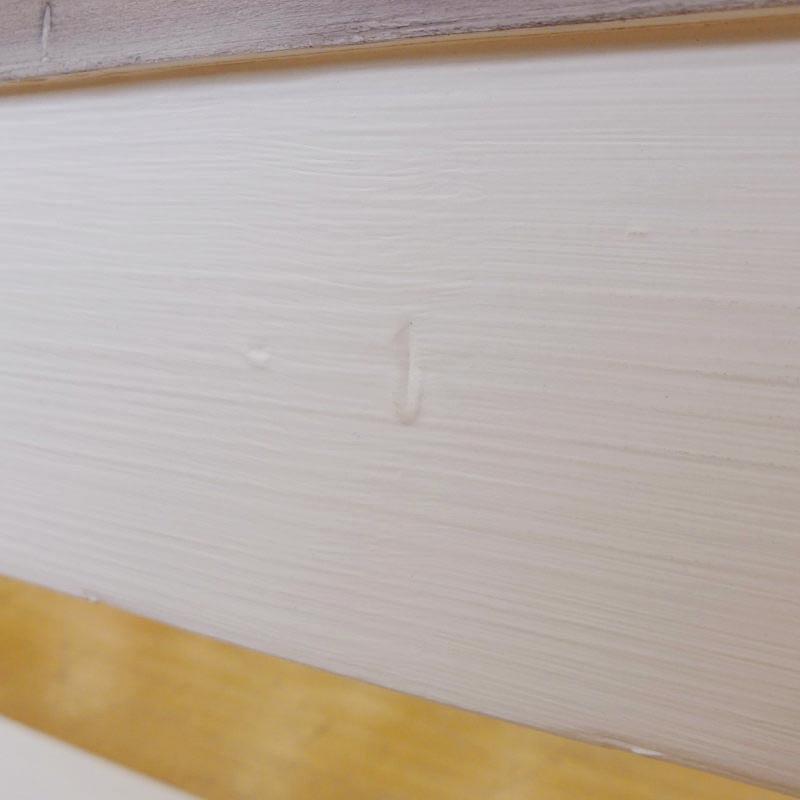 ベンチ ダイニング チェア フレンチ カントリー アンティーク アンティーク調 木製  シャビーシック レトロ おしゃれ 大人可愛い パイン パイン材 無垢 無垢材 ダイニングベンチ アッシュ&ホワイト LS016 Plantation