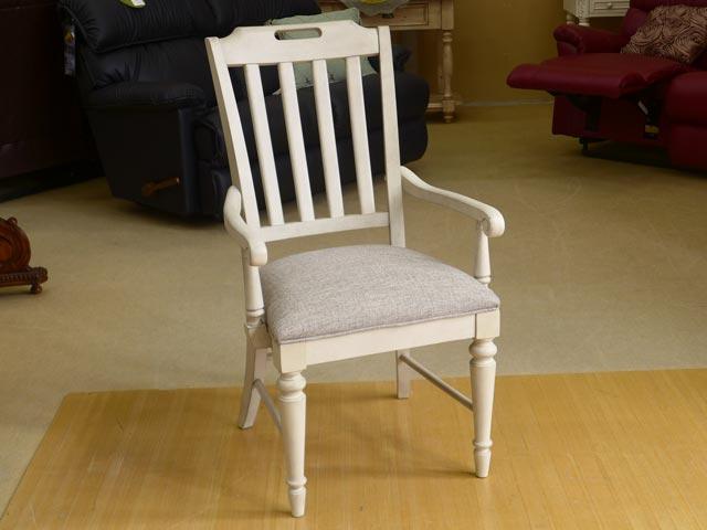 ダイニングチェア 肘付き 白 ホワイト グレー フレンチ カントリー シャビーシック 高級 家具 アンティーク アンティーク調 木製 おしゃれ アメリカン ダイニング チェア 椅子 いす 布 布地 カフェ エレガント ロマンチック アームチェア B