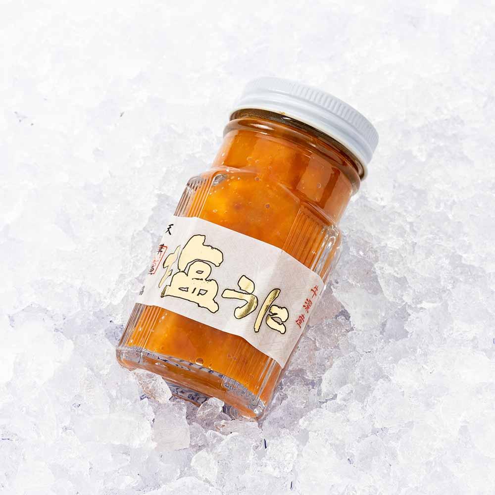 塩ウニ 瓶詰め1本約80g【牛深漁港直送】