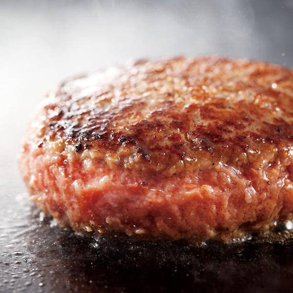 甘くジューシーな肉汁が溢れる★極旨 極厚 ハンバーグ 1ポンド (450g) 大和榛原牛 大和美豚 牛肉 豚肉 肉 冷凍便