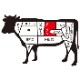 大和榛原牛(黒毛和牛A5等級)吟撰極上ロース 400g すき焼き用 木製ギフト箱入 送料無料 冷蔵便