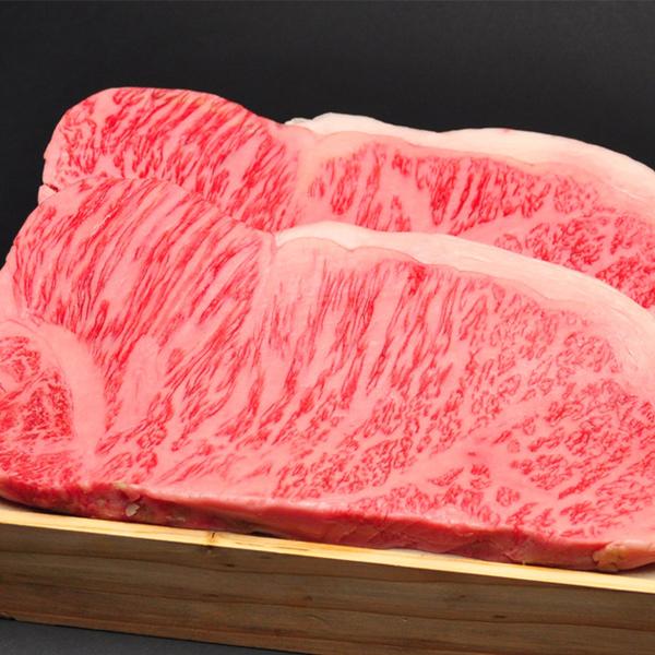 ギフト 牛肉 肉 大和榛原牛 極厚 サーロイン ニューヨークカット ステーキ 1ポンド(450g) 化粧箱入 送料無料 肉 黒毛和牛 A5