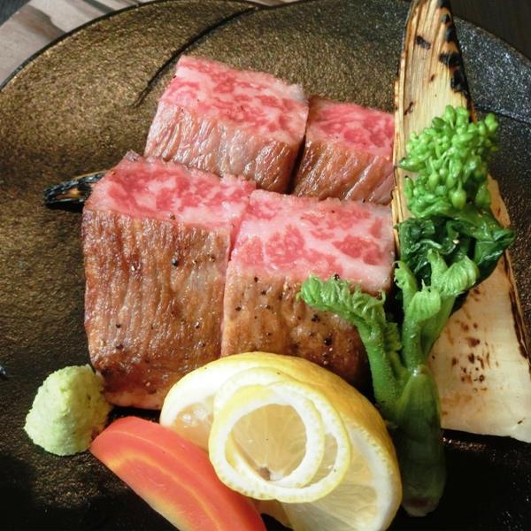 ギフト 牛肉 肉 大和榛原牛 長期低温熟成★赤身モモ もも肉 ステーキ 10oz(300g) 化粧箱入 送料無料 牛肉 黒毛和牛 A5