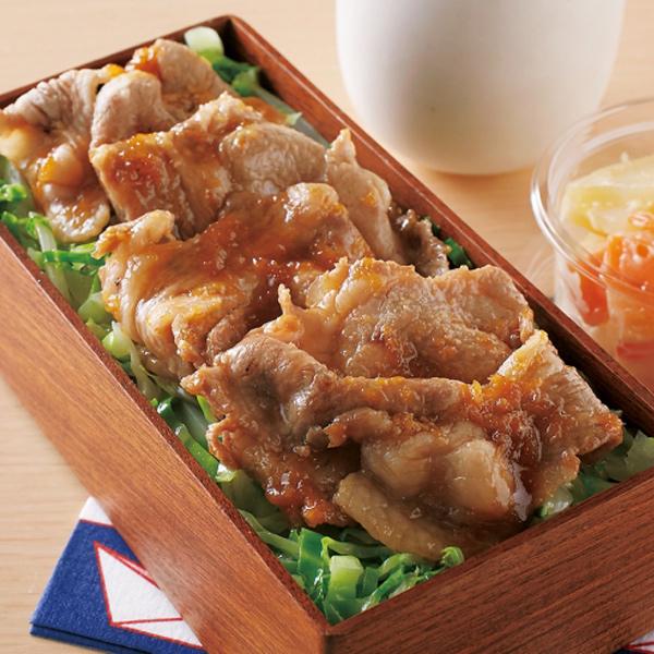 大和美豚 豚肉 肉 生姜焼き しょうが焼き たっぷり 500g (4-5人前) 送料無料 生姜 しょうが おかず 弁当 定食 冷凍便